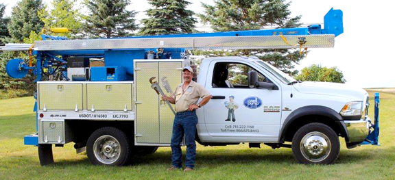 Kurt and his New Well Pump Service Truck